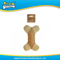 Natural Polyester Bone Shaped Pet Sex Toy For Dog