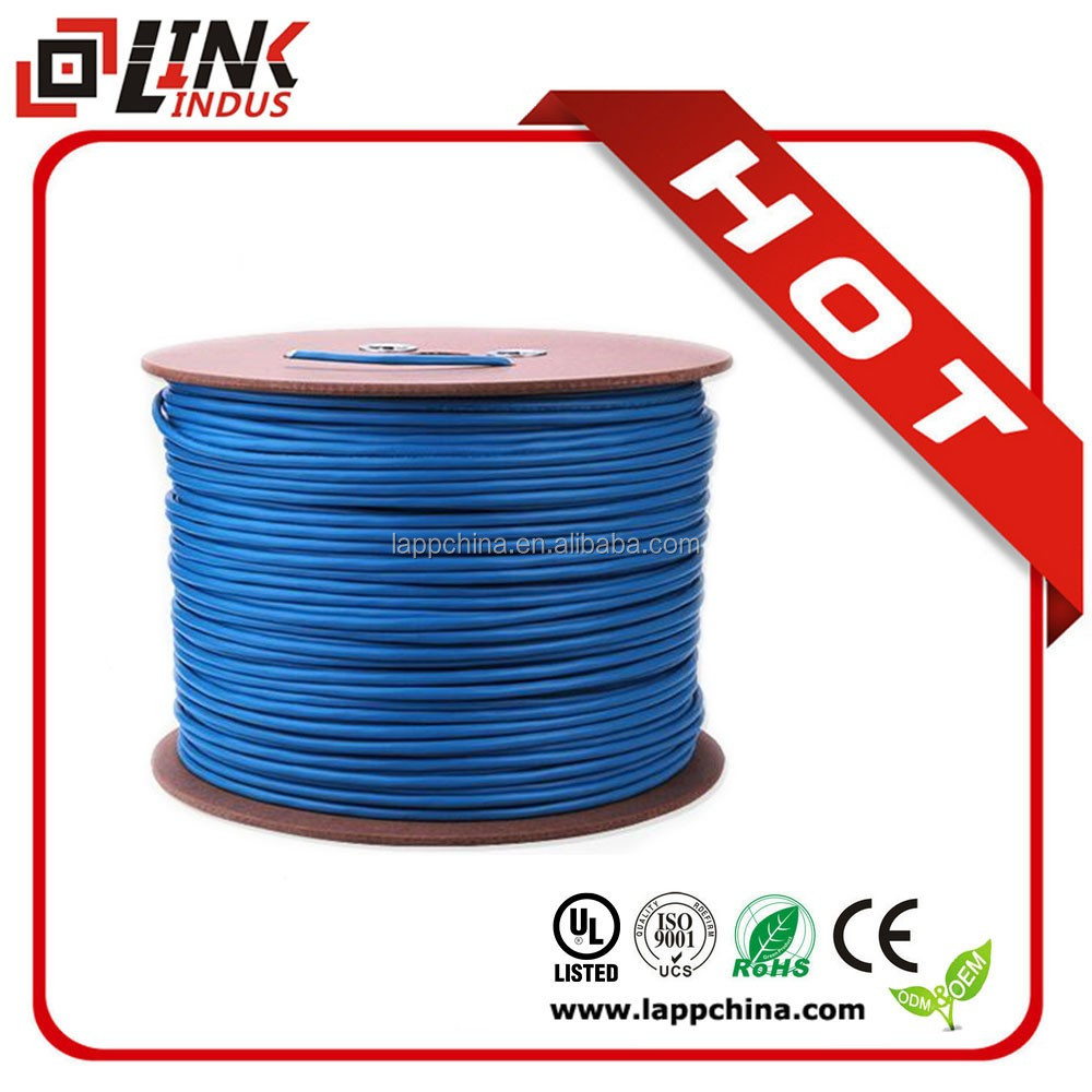 SFTP ethernet wire brand cat6 utp 4pr 23awg cable