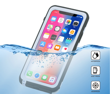 IP68 certified Waterproof Full-body Rugged Case with Built-in Screen Protector for iphone x waterproof case