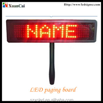 NEW ARRIVAL!!!led paging board