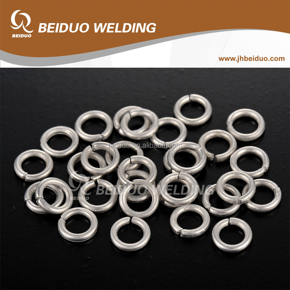 Flux Cored Aluminum Welding Ring brazing rings copper Aluminum welding
