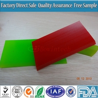 25x5mm Green Color Solvent Resistance Squeegees for Screen Printing