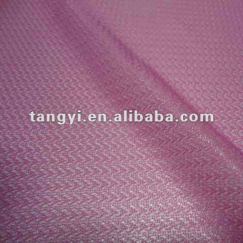 pink polyester mesh lining fabric for t shirts