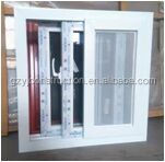 upvc sliding window with net conch brand