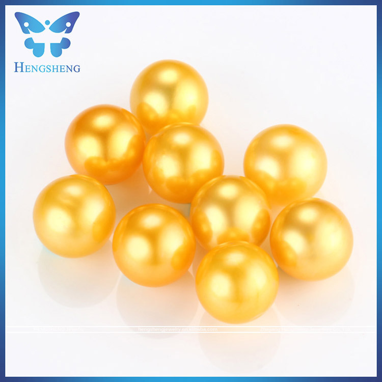 Don't Missing!!! 2017 new arrival AAA+ 6-8mm rainbow color cultured near round loose pearl no holes for free shipping