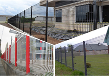 Home and Garden Powder coated Fence Steel Panel with Alibaba Trade Assurance