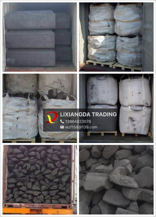 Anode Carbon Blocks Replace Foundry Coke /Anode Carbon Scraps