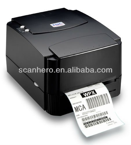 TSC TTP-244 plus barcode scanner label printer
