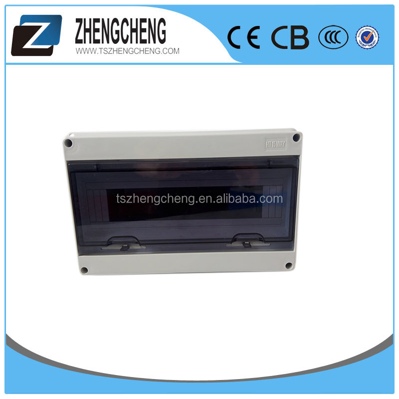 IEC60439-3 low voltage Profession Produce IP65 rated waterproof Electrical Break Board mcb Power Distribution Box