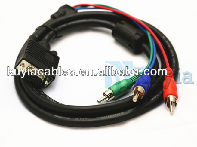 HIGH SPEED VGA RCA CABLE