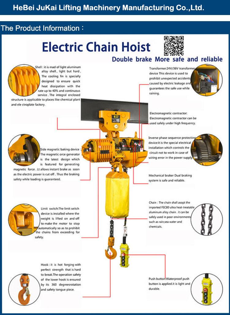 Kito Electric Chain Hoist Wiring