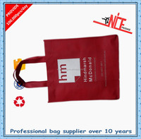 Eco friendly combine color nonwoven shopping bag for 2015