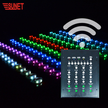 NEW FUNCTION Big party decorations silicon light up wristband programmable remote controlled led bracelet