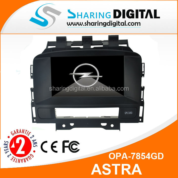 Car Radio with GPS navigation For OPEL ASTRA J 2011-2012 Navigation car dvd