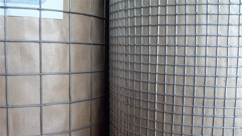 "3/8"" hot dipped galvanized / pvc coated welded wire mesh for building material"