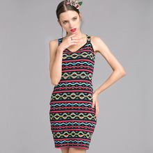 women sexy sleeveless two piece evening dress designer clothing wholesale china above knee eco-friendly clothings