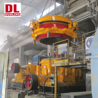 DUOLING New Generation Heavy Duty High Crushing Ratio Ballast Hydraulic HP Cone Crusher