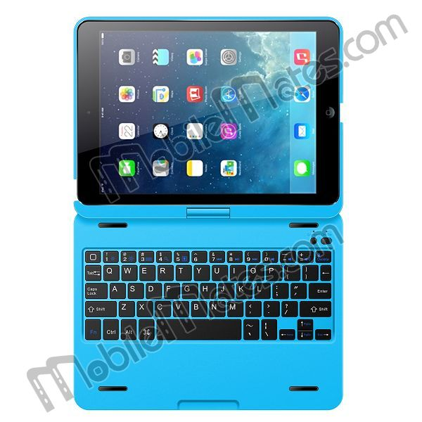 360 Degree Rotating Bluetooth Keyboard With Magnetic Hinge for iPad Air From China Supplier, Paypal accepted