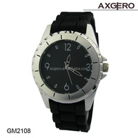 Japan movement quartz battery sr626sw cheap and cute silicone watch