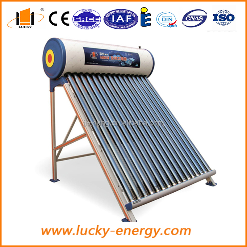 widely used non pressurized solar water heater