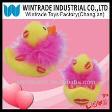 Yellow Feather Duck Gift for Valentine