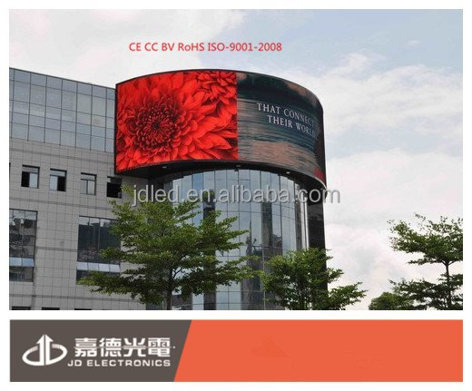 360 Degree led display outdoor