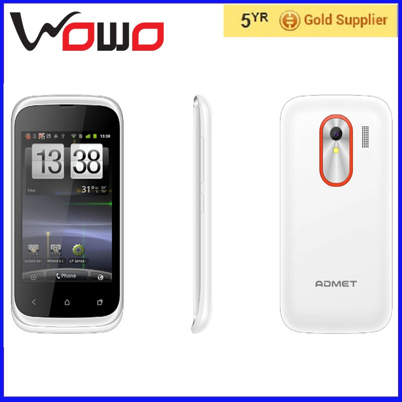 2016 oem mobile phone 3.5 inch 2g samrt mobile phone T328 android4.4.2 black,white , 3G mobile phone