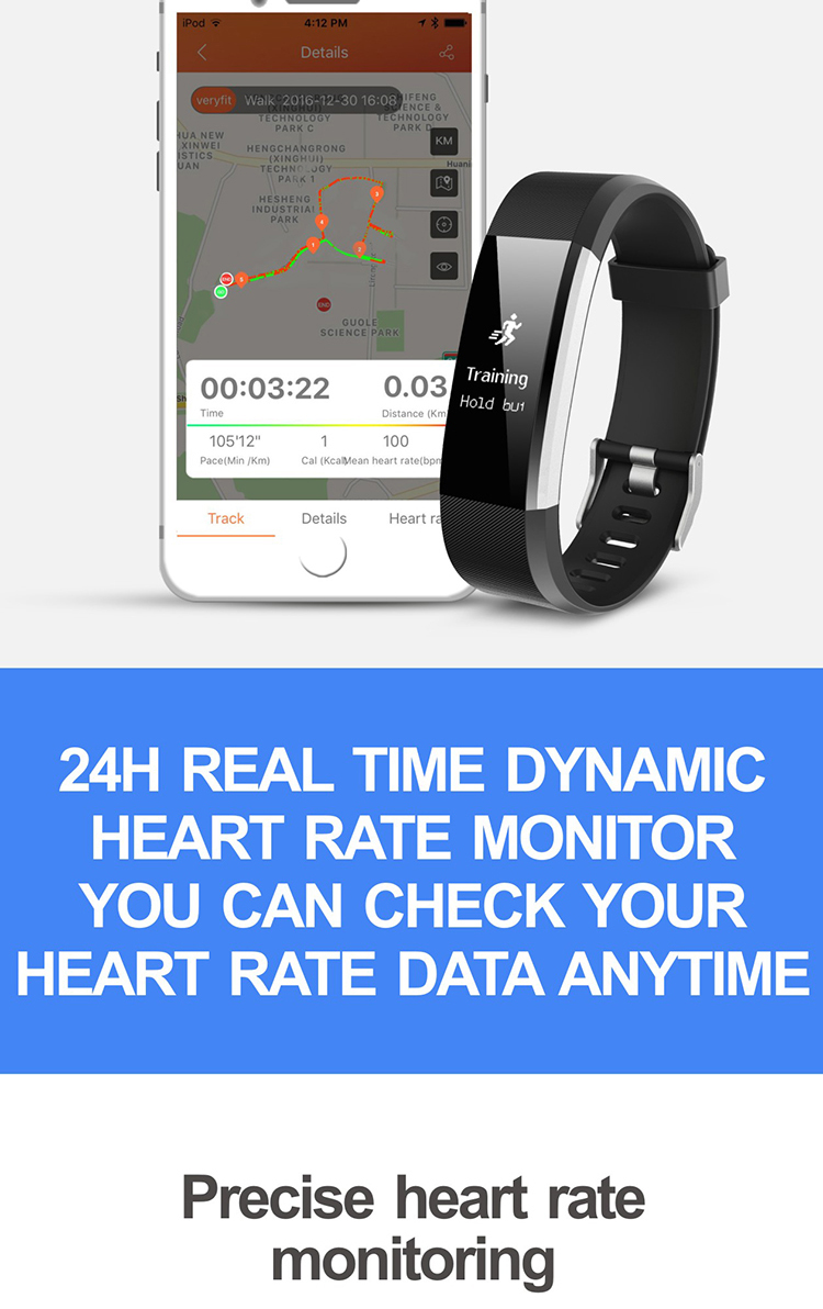id115 plus hr smart bracelet heart rate monitor id115plus wristband health fitness tracker for android ios _04.jpg