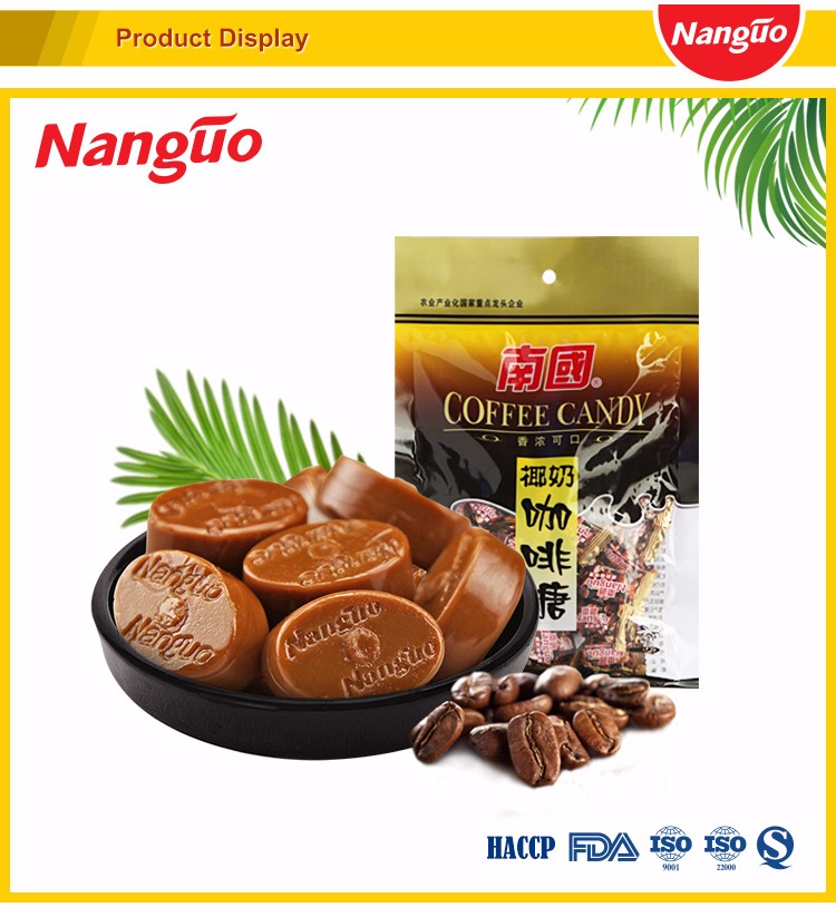 Sumiyaki Coconut Milk Coffee Candy/Coconut Coffee Candy Manufacturer