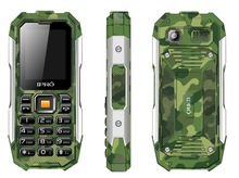 Customized professional Ipro Shark three proofing feature phone 2.0 inch handphone outdoor with camera 0.8 MP