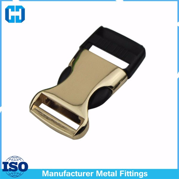 Metal & Plastic Side Release Buckle For Webbing/Bags/Straps