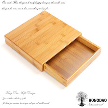 HONGDAO small unfinished wood tea box wholesale,custom wooden gift box packaging for tea cheap wholesale