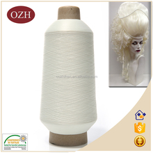 Hot sale low price cone dyed 100% nylon yarn for The wig