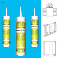 JY813 Non-toxic glass /special glass cement/ silicone sealant