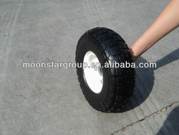 high quality small rubber wheels 350-4