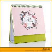 Various kinds green new table planner calendar