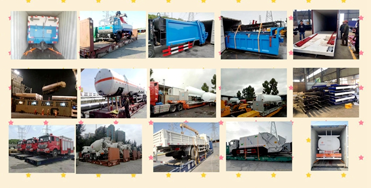 Euro3 5cbm mini Lpg Gas Tank Truck with refilling system