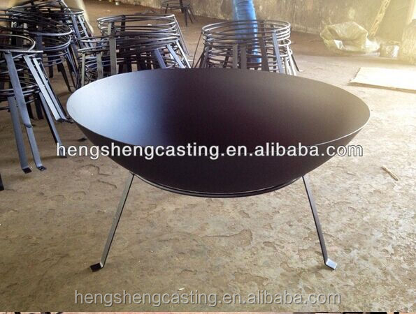 Trade Assurance made in china cast iron outdoor large fire pits
