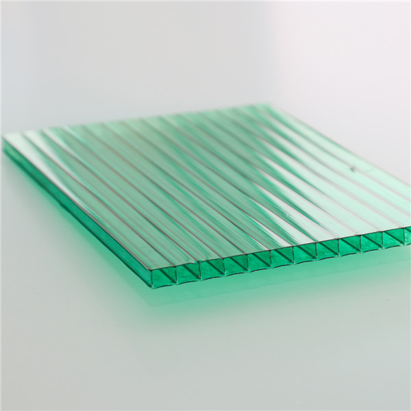 Uv protect 10mm hollow lexan polycarbonate sheet waterproof roofing panels