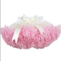 Hot Selling children dress wholesale Christmas puffy pettiskirts for girls