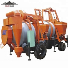 SLJ-16 mini mobile cold bitumen stationary asphalt mixing plant