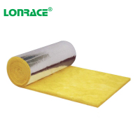 Hot Selling With Aluminum foil Fire Resistance Glass Wool Blanket