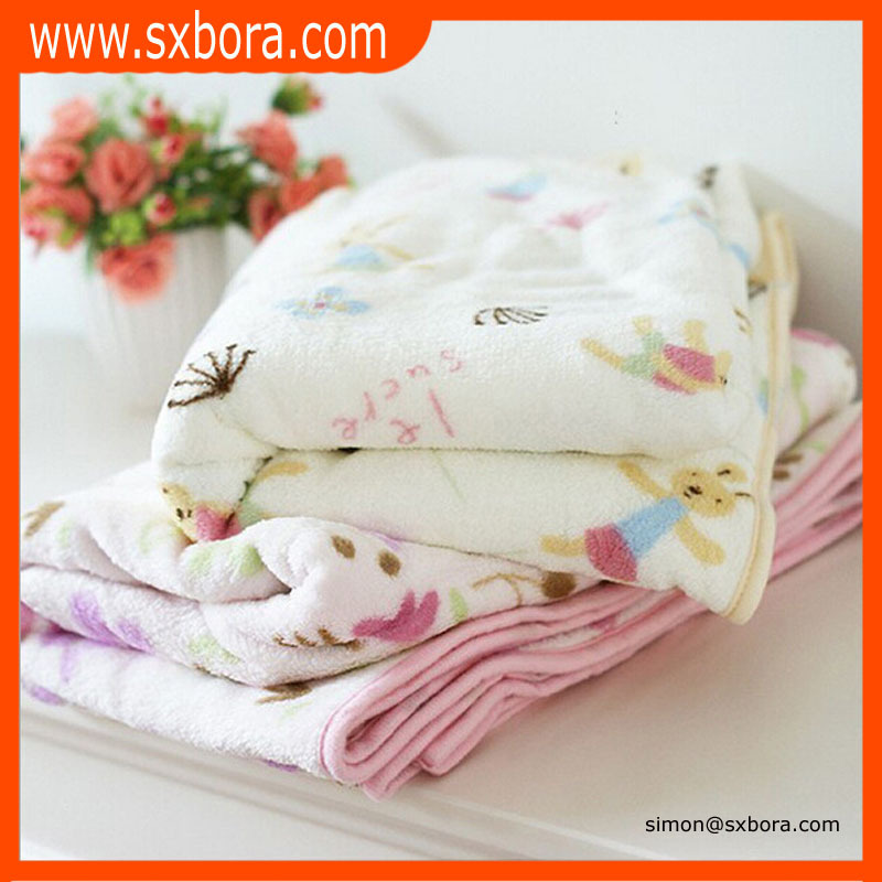 100% polyester soft cheap wholesale baby factory