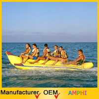 factory pvc inflatable banana float plastic pool banana boat for sale big banana inflatables