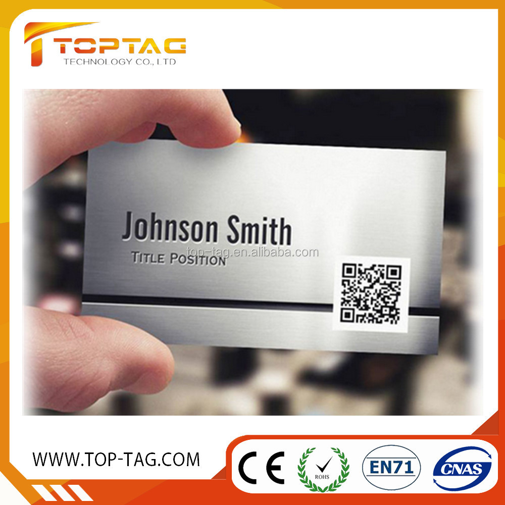Custom Graphic Design Membership Card with QR Code
