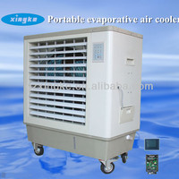 Water powered no compressor air cooler 7000m3/h airflow/ Low power consumption floor standing air conditioner