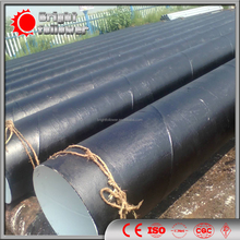 Sprial welded steel pipeline(SSAW), steel reinforced hdpe pipe used for oil and gas transmission