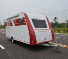 High Quality Used Offroad Caravan House Trailer