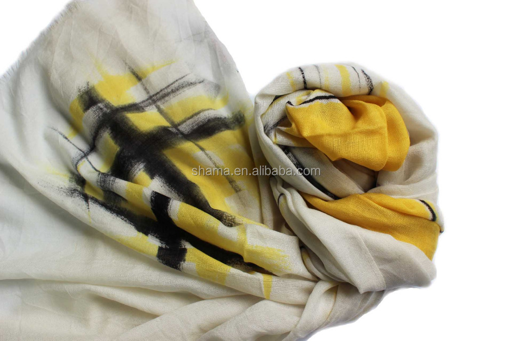 100% cashmere stoles/shawls multiple colors scarf OEM for ladies