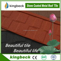 flat stone coated metal roofing shingles, aluminum zinc roofing sheets for sale
